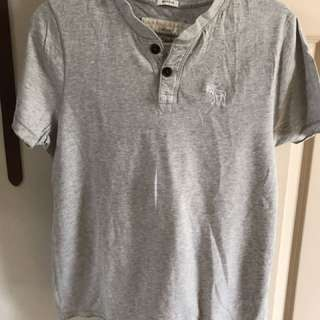 A&F Henley Top Small
