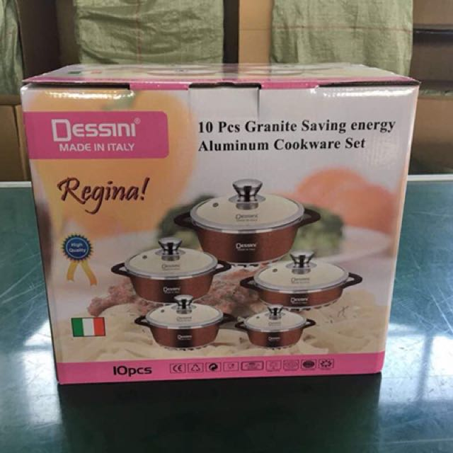 10 pieces Dessini cookware