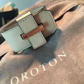 Oroton Leather cuff