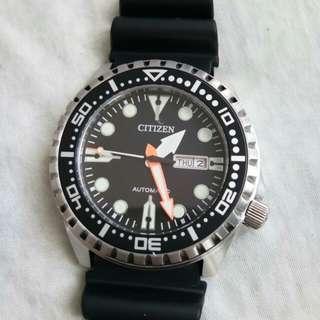 Citizen Diver's Watch like Seiko, Oris, Longines, Tudor, Hamilton, Tag Heuer