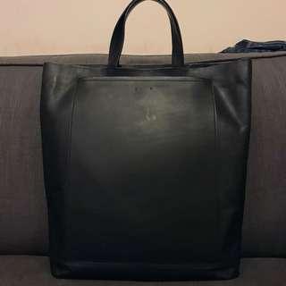 PB0110 CM11 德國品牌真皮手提包 Germany Black leather hand carry bag 名牌手袋手挽包包