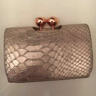 Ted Baker gold wallet