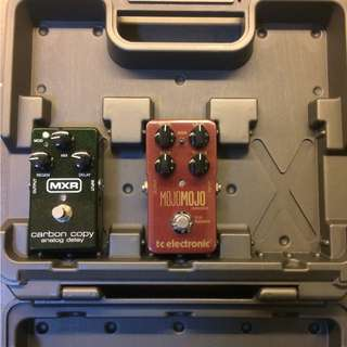 Pedals, Amp, Pedalboard Case (Blackstar, MXR, TC Electronic, Visual Sound)