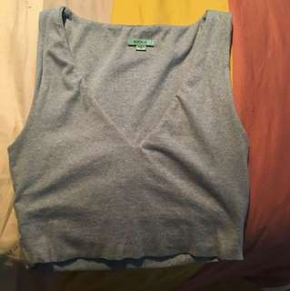 Kookai size 1 crop light blue
