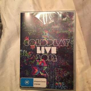 Coldplay 2012 tour DVD
