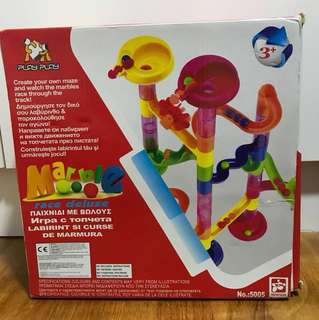 Preloved- Marble Run toys
