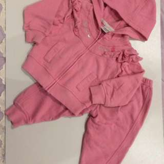 Baby kiko girl sweater (one set)
