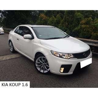 Kia Cerato Forte Koup 1.6 Auto