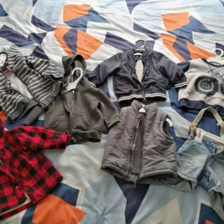 Baby Boy's Clothing 6-9-12 months