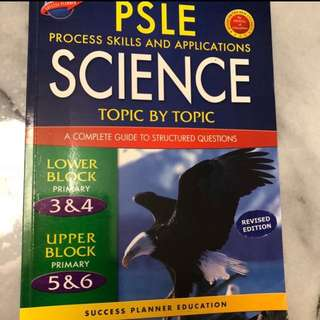 Psle science assessment books
