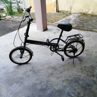 Foldable bike.