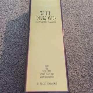 Elizabeth Taylor white diamonds perfume