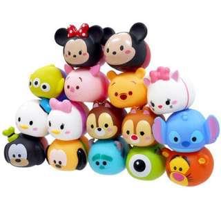 《新入荷》1號賣場《獨家版本》Disney迪士尼正版(限定版本)tsumtsum公仔娃娃-家家酒-洗澡玩具-疊疊樂-娃娃