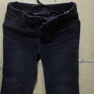 Teens Purple Corduroy Pants