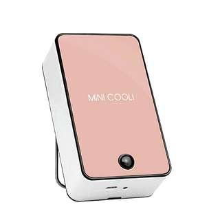 Mini Cooli rechargeable portable fan (pink)