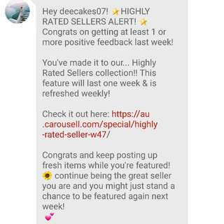 Highly Rated Seller!