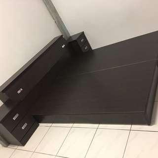 🛏️雙人加大六尺雙人床箱/床底/床架(含床頭箱)