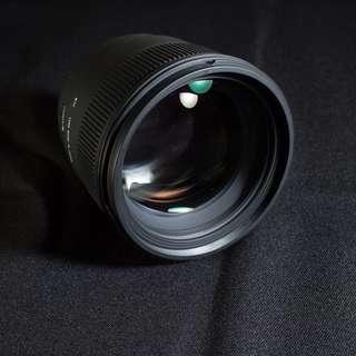 Sigma 85mm DG Hsm人像鏡-canon
