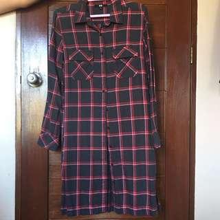 Uniqlo Plaid Dress