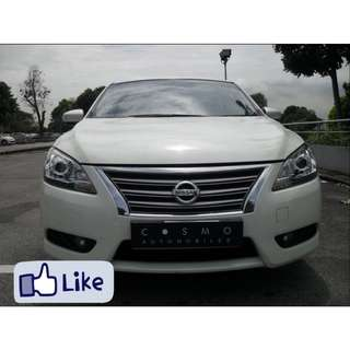 NISSAN SYLPHY 1.8 CVT ABS D/AIRBAG 2WD 4DR