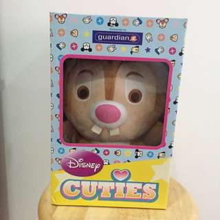 Disney Cutie Chip & Dale Soft Toy