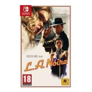 [BNIB] Nintendo Switch L.A. Noire