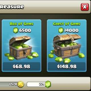 Clash Of Clans- Limited Time Discounted Gems #Sale