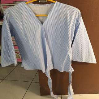 Kimono Blue Stripes