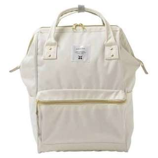 Anello White Backpack