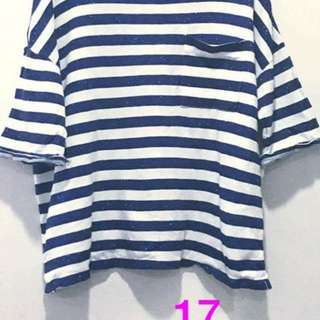 Zara Oversized Stripes Shirt