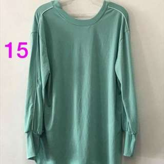 Zara Teal Green Sweater
