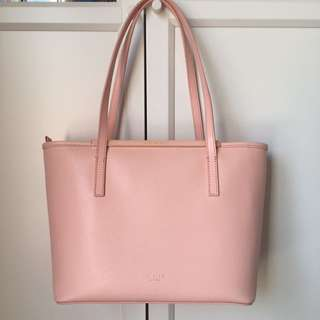 TED BAKER Shoulder Tote Hand Bag - pink/peach