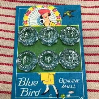 古董閃耀珠寶風格鈕扣+Vintage Sparkling Jewel Buttons+