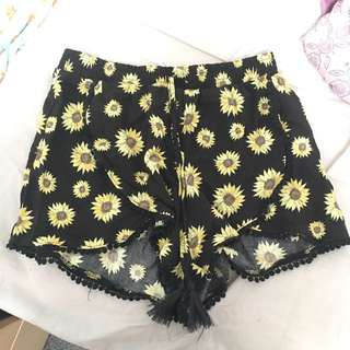 Sunflower shorts size S