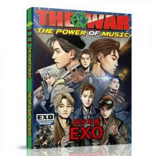 EXO THE WAR POWER OF MUSIC PHOTOBOOK