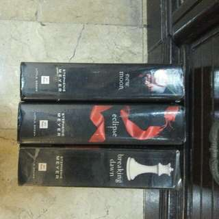 Twilight Saga books (3 books)