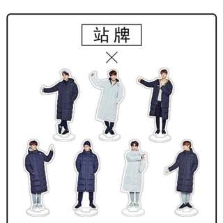 BTS ~ MEMBER ARYCLIC STANDEE