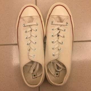 🚚 converse 1970s 米白 帆布鞋 142338C