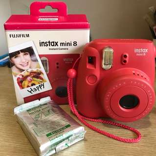 Instax mini 8 with film