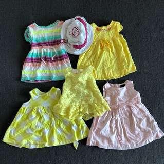 5 apparel +1 hat