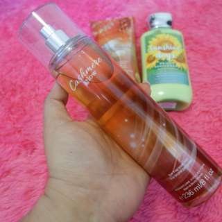 NEW !! BBW BODY MIST -CASHMERE GLOW
