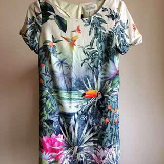 #preloved HnM conscious collection dress