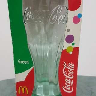 Coca Cola Green Glass