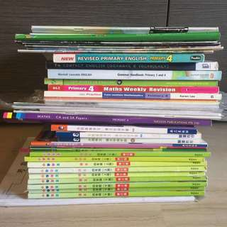 Bundle price! Primary pri 4 textbooks and assessments books.