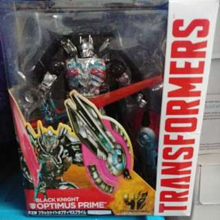 全新 Takara Tomy Optimus Prime Black Knight 日版