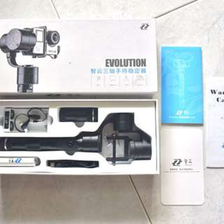 Zhiyun Z1-Evolution 3-Axis Handheld Gimbal Stabilizer with 4-Way Joystick for GoPros Xiaomi Yi Action Cameras