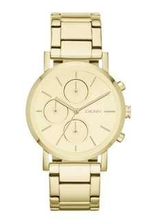 DKNY NY8861 Lexington Ladies Gold Dial Glamorous Watch