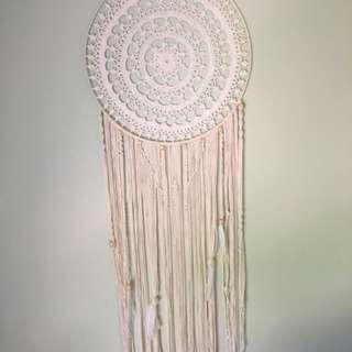 Handmade macrame dream catcher/wall hanging