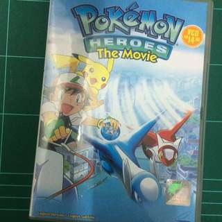 Pokemon Heroes the Movie VCD