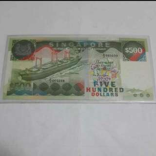 Xmas Sale $500 Note Ship Series